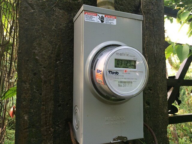 homeowners need to protect themselves from smart meters like this one since they emit radiation