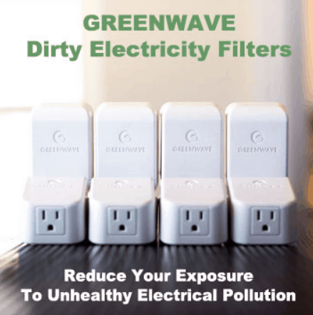 These dirty electricity filters by Greenwave help you reduce electrical pollution