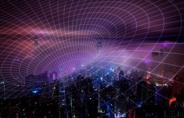 This images helps you visualize how radio waves travel.